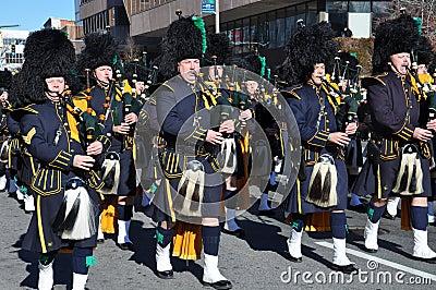 Vigésimo Spectacular anual del desfile de la acción de gracias de UBS, en Stamford, Connecticut Foto de archivo editorial