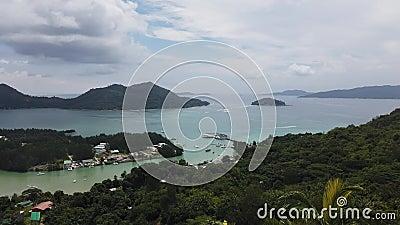 Vigia de Praslin Seychelles filme