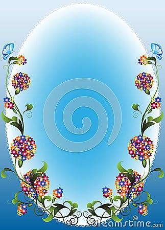 Free Vignette Flower1 Stock Photography - 13896972