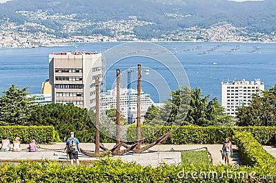 Vigo park Editorial Stock Image