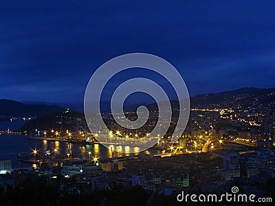 Vigo port area, Galicia region, Spain