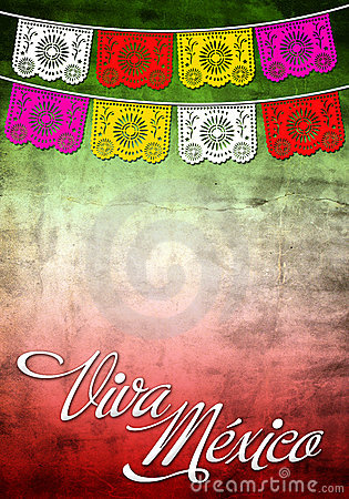 Free Viiva Mexico Poster - Card Template Stock Photo - 22138230