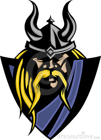 Viking / Barbarian Mascot Logo