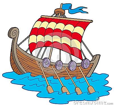 Free Viking Boat Stock Photos - 12172153