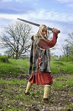 5.8 Lying in the sun, Team buildig activities az the S.M.SZ.K. - Page 2 Viking-girl-warrior-19880677