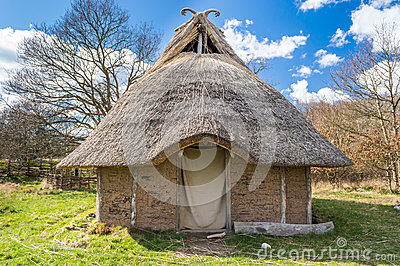 Viking House Stock Photo Image 52408828