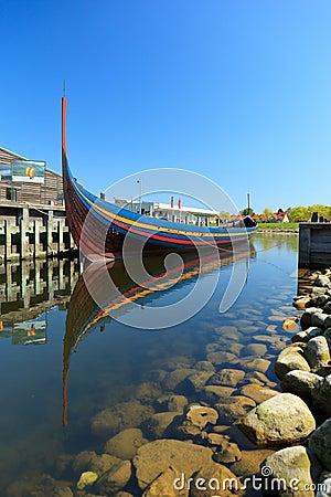 Viking Longboat in Roskilde