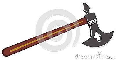 Viking s battle axe