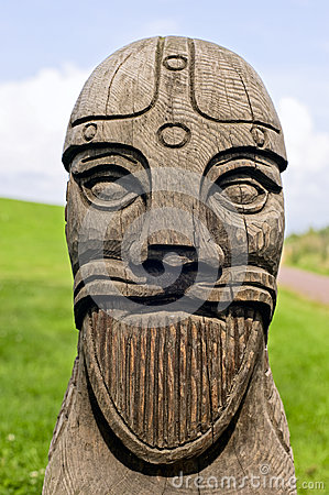 Viking s head