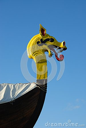 Free Viking Ship Royalty Free Stock Photo - 39806105