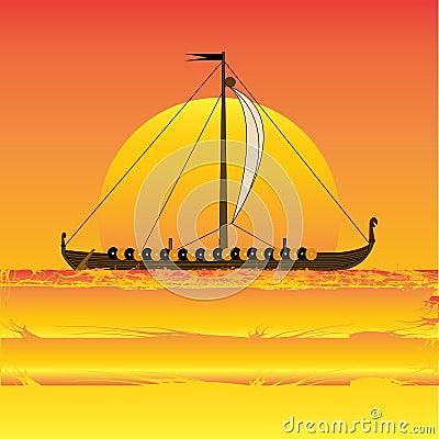 Viking Sunset