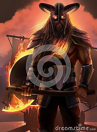 Free Viking Warrior Stock Photo - 42516820