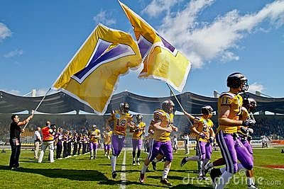 Vikings vs. Broncos Editorial Photography