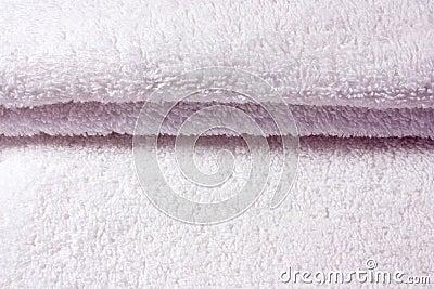 Vikta slappa handdukar