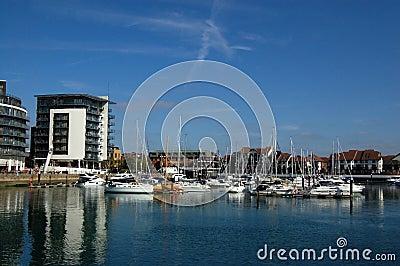 Vila do oceano, Southampton