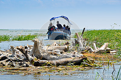 VILKOVO, UKRAINE - May 19: Danube delta. Editorial Stock Image