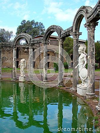 Villa Adriana near Rome, Italy