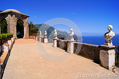 Villa along the Amalfi Coast