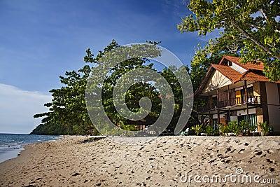 Villa on the beach