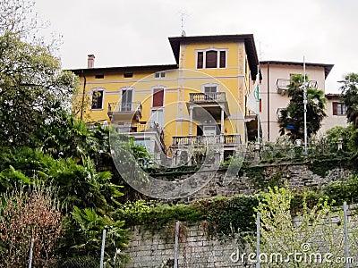Villa Bossi Editorial Stock Photo