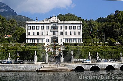 Villa Carlotta from Lake Como