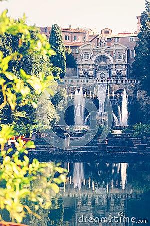 Free Villa D`Este In Tivoli Stock Photos - 85904293