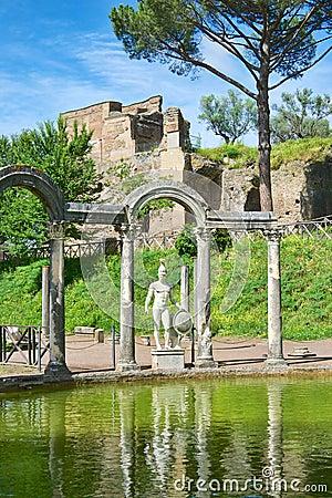 Ancient Roman pool
