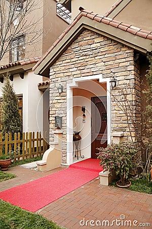 Villa doorway