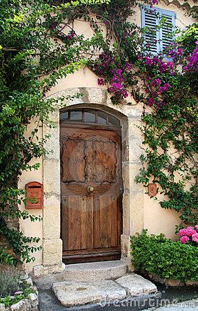 Free Villa Doorway, France Stock Photography - 7469972
