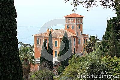 Villa Hanbury botanic garden, Italy