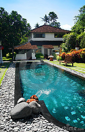 Free Villa In Bali Resort Stock Photos - 7619823
