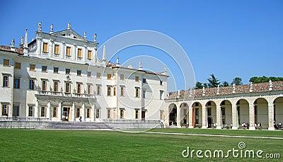 Villa Manin facade and porch