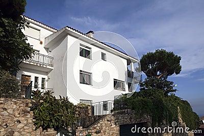 Villa on the Mediterranean Sea
