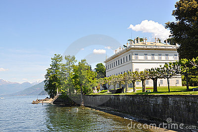 Villa Melzi at the Italian lake Como