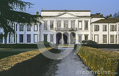 Villa in the Monza Park