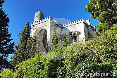 Villa in Moorish style