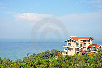 Villa near the ocean