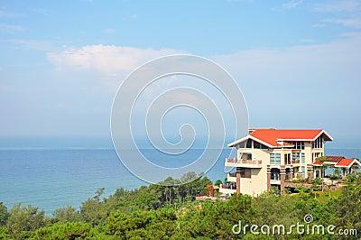 Villa near the ocean