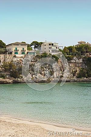 Villa by ocean