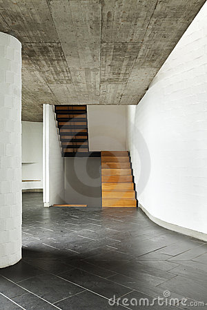 Villa, passage, background stairs