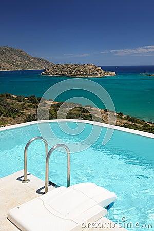 Villa s swimming pool area