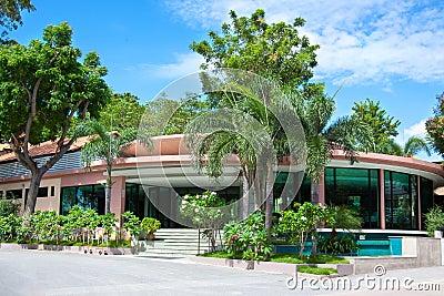 Villa in tropics
