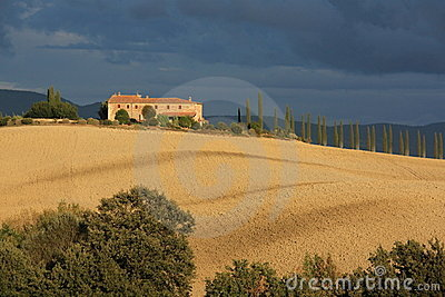Villa in Tuscany countryside