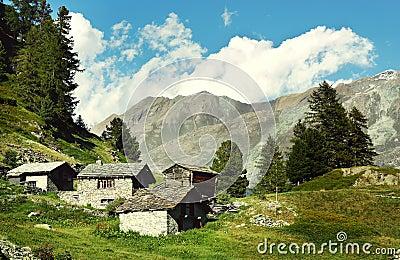 Village abandonn dans les alpes suisses image libre de droits image 34183296 - Achat village abandonne ...