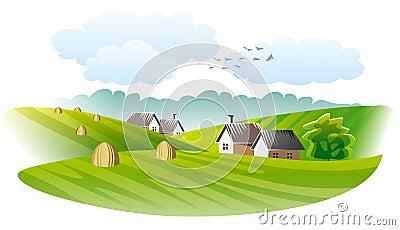 Village. Agriculture