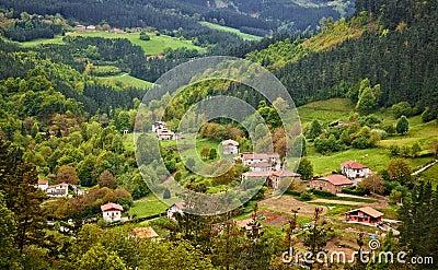 Village at Arratia valley