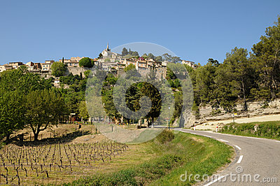 Village of Bonnieux in Provence