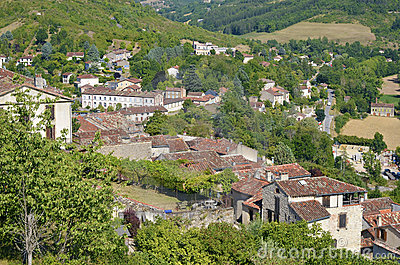 Village of Cordes en Ciel in France