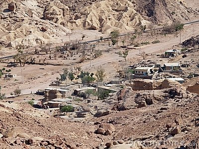 Village dans desert3