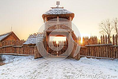 Village de Faktoria dans Pruszcz Gdanski